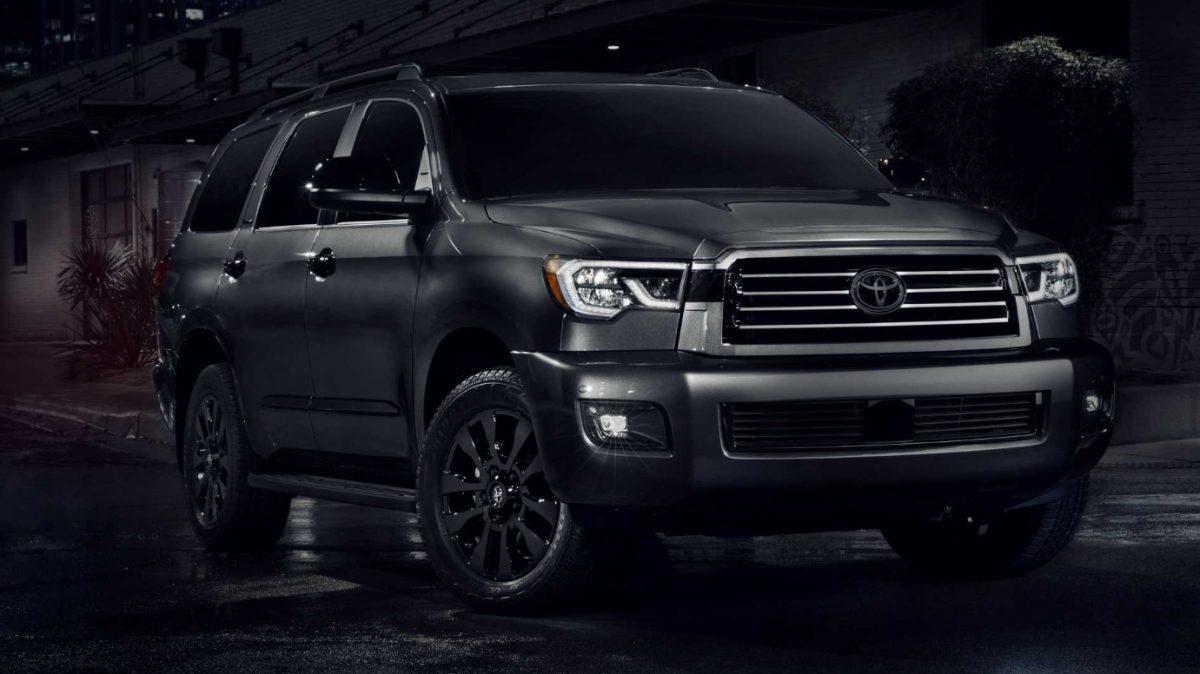 2021 Toyota Sequoia Nightshade Special Edition